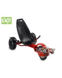 Exit - Ligfiets Triker Pro 100 - Rood - Go cart