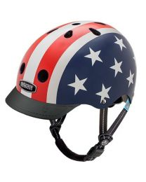 Nutcase - Little Nutty - Stars & Stripes - Kinderhelm (48-52cm)