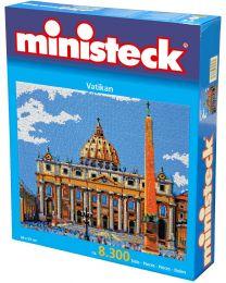 Ministeck - Vaticaan – 8300st - Mozaïek steentjes