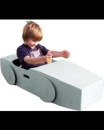 Paperpod - Kartonnen Auto Wit
