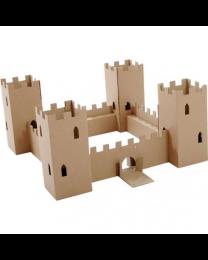 Paperpod - Kartonnen Kasteel Bruin
