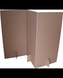 Paperpod - Scheidingswand (2x) Bruin
