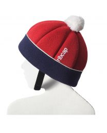 Ribcap - Freddie Red/Marine Midi Kids - 50-52cm