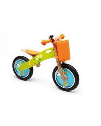 Scratch - Balance Bike L - Bijtjes - Houten loopfiets