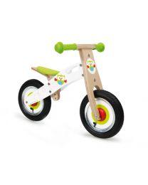 Scratch - Balance Bike S - Uil - Houten loopfiets