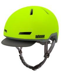 Nutcase - Tracer Spark Yellow Matte - M/L - Fietshelm (56-60 cm)