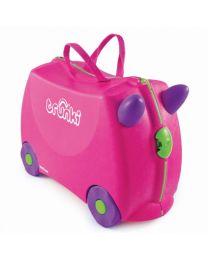 Trunki - Trixie Roos - Ride-on en reiskoffer - Roze
