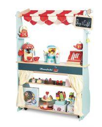 Le Toy Van - Eetkaffee en winkeltje Honeybake - Houten kinderkeuken