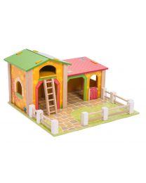 Le Toy Van - Kleine boerderij - Houten speelset