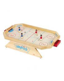 Weykick - Houten achthoekig ijshockeyspel - Model 8500