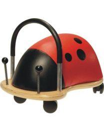 Wheelybug - Lieveheersbeestje Groot (2,5 - 5 jaar) - Loopauto
