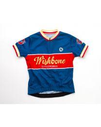 Wishbone Bike - Wielertruitje Blauw S