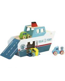 Vilac - Vilacity houten veerboot