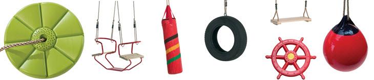 Accessoires voor uw schommel of speeltuig