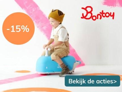 15% korting op Bontoy