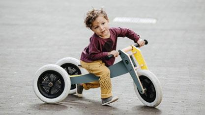 Kinderen op wielen - Wishbone Bike Grijs